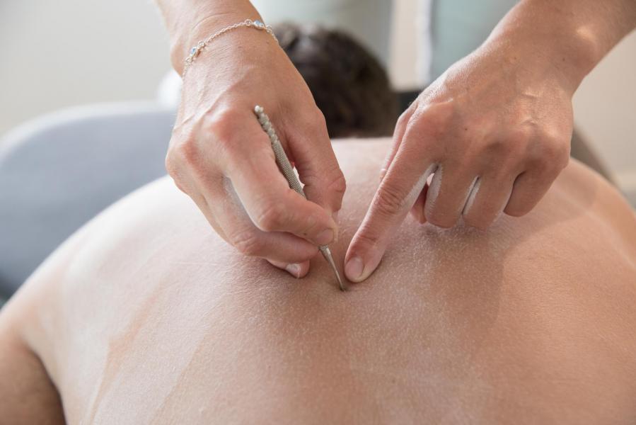 Réflexologie dorsale